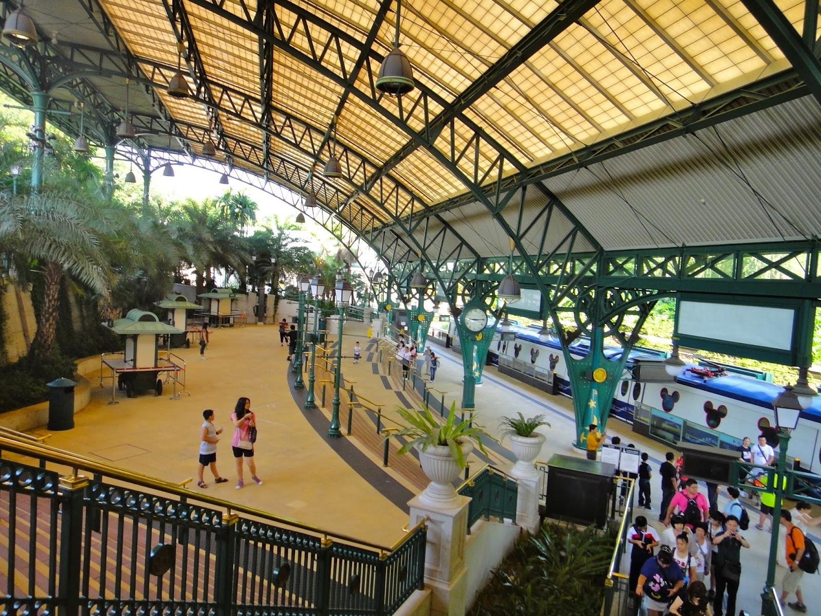 Hong Kong Disneyland Resort MTR