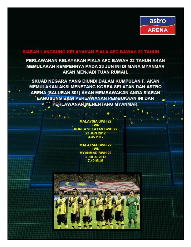 malaysian sports\u0027 loose cannon june 2012apapun, pelanggan astro boleh menyaksikan kempen kelayakan ini secara langsung dan lihat sendiri sama ada team ini ada ong atau tidak!