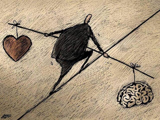 العقل - القلب - توازن الحياة