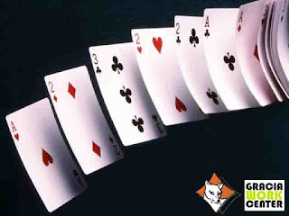 taller de poker en Gracia Work Center con Pokerinas