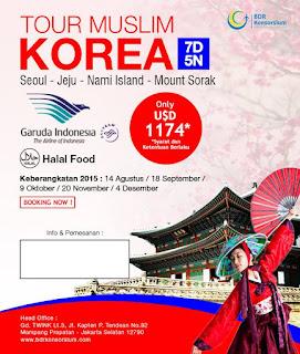 Paket Tour Korea Jeju Muslim
