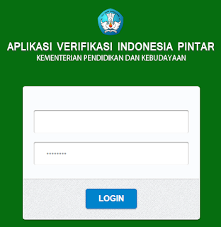 Cara  Login Aplikasi Verifikasi Program Indonesia Pintar ( PIP)
