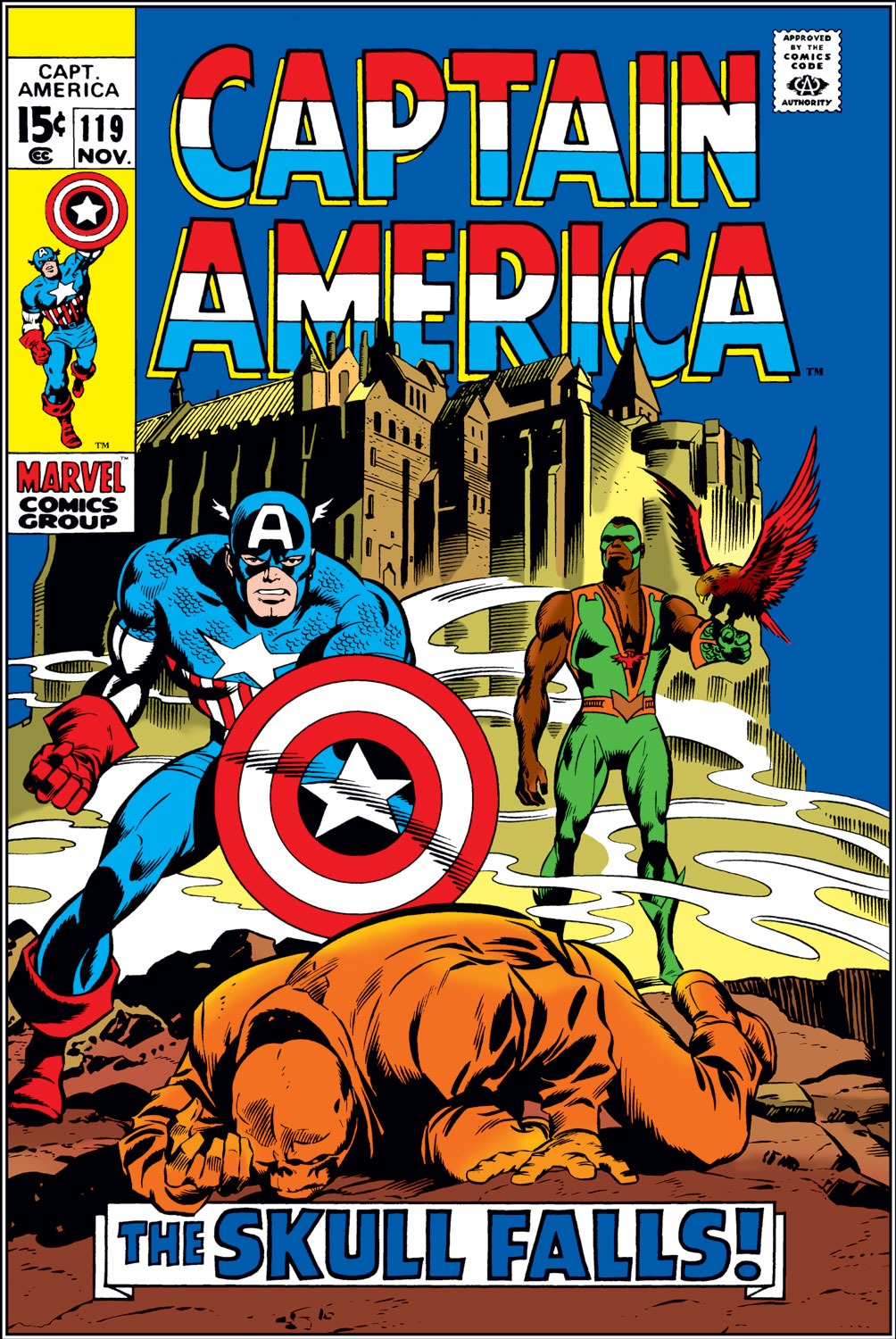 Captain America (1968) Issue #119 #33 - English 1