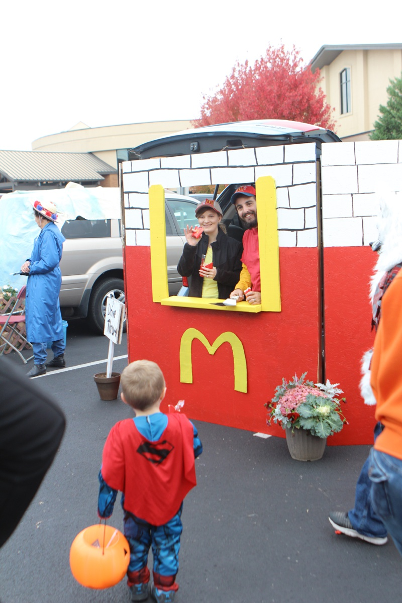 Trunk or Treat Idea McDonalds