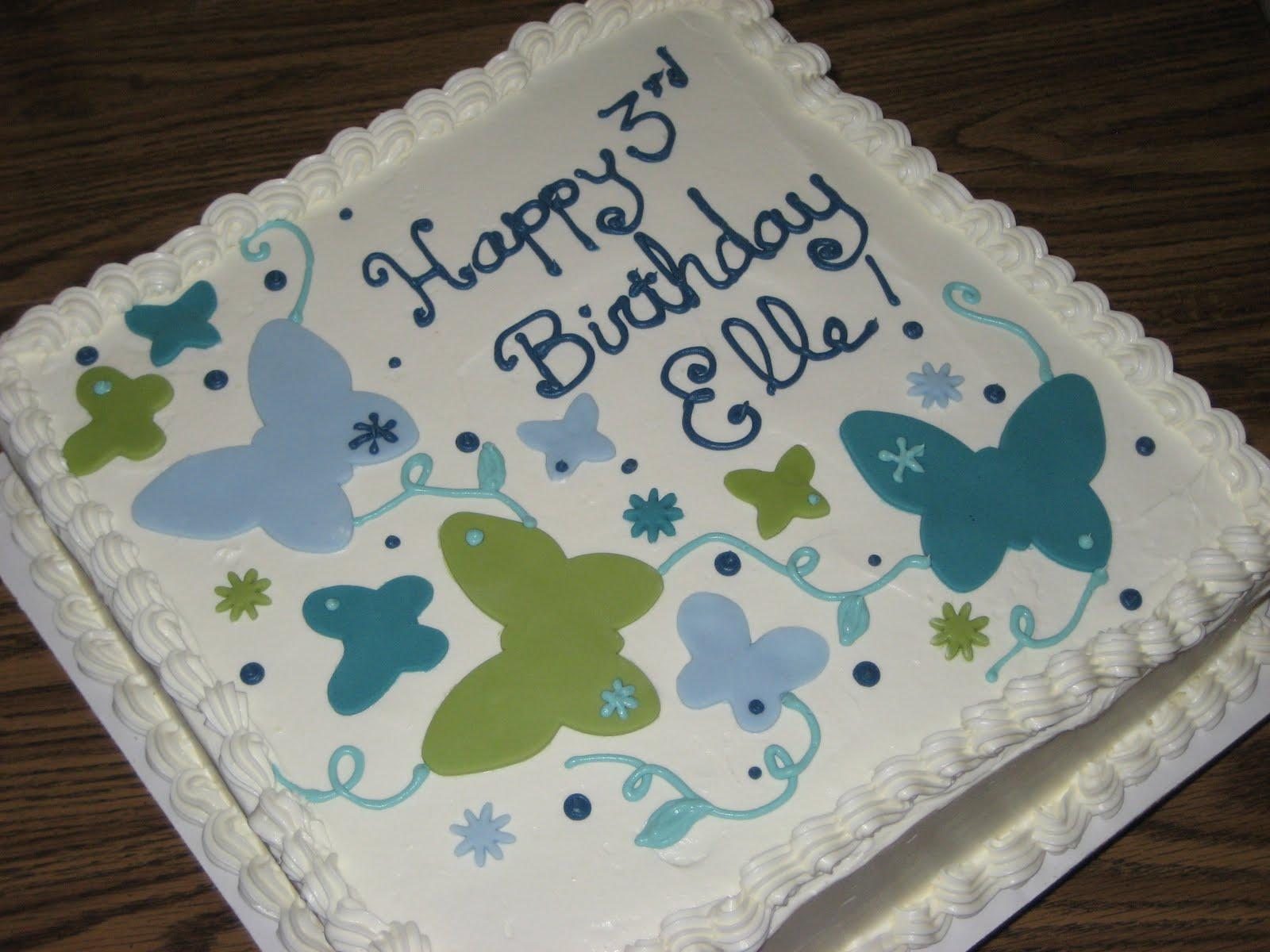 February Birthday Cakes T Cakes Elles 2nd 3rd Birthday Cake
