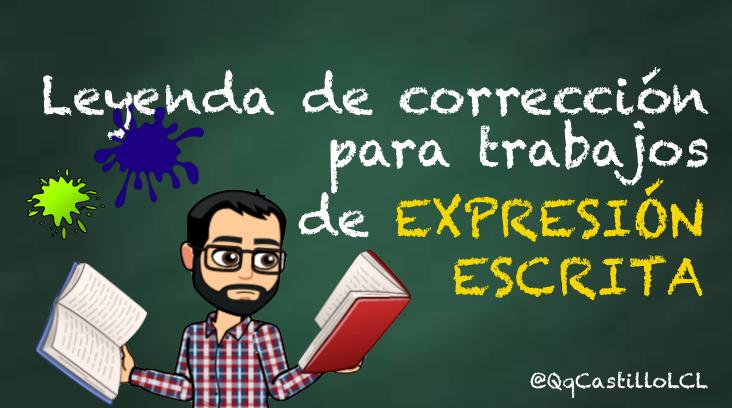 Código de corrección de las producciones de expresión escrita