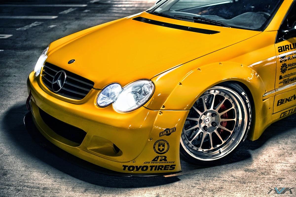 mercedes street racing