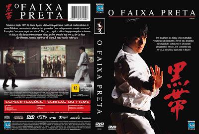 O Faixa Preta DVD Capa