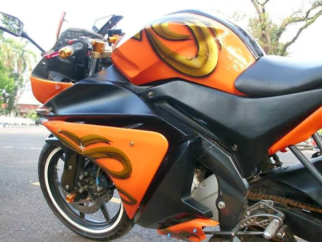 Modifikasi Vixion Sporty Model YZF-R125