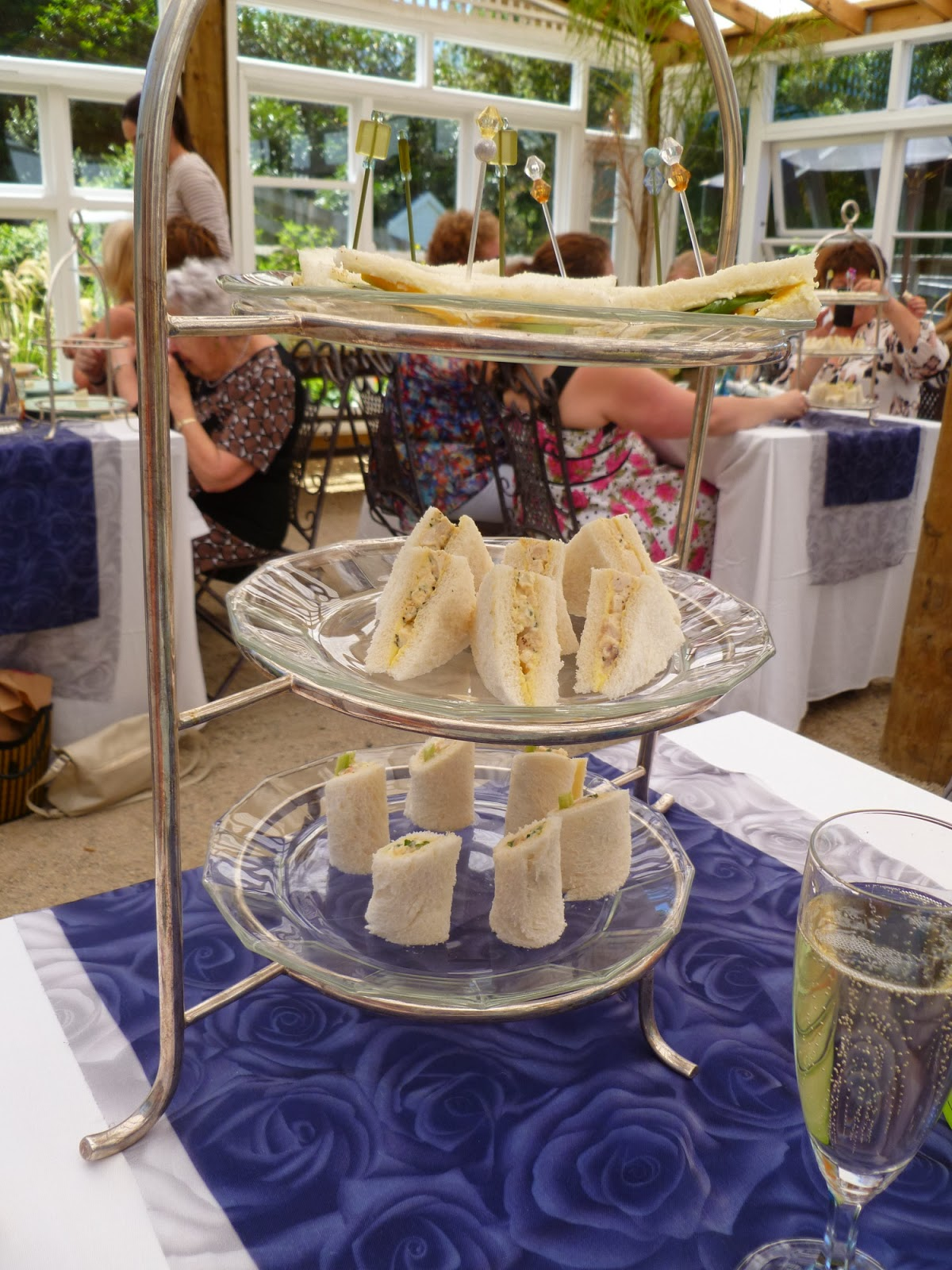 Tales from a caffeinated weka how to high tea with ruth for Club sandwich fillings for high tea