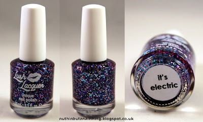 Lush Lacquer It's Electric Nail Polish Swatches