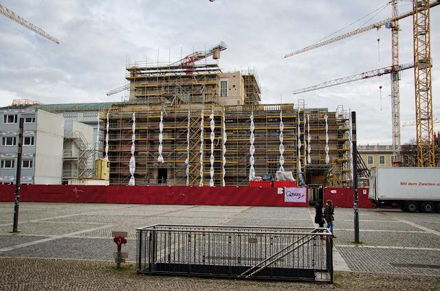 Baustelle Staatsoper, Bebelplatz Unter den Linden 10117 Berlin, 22.12.2013