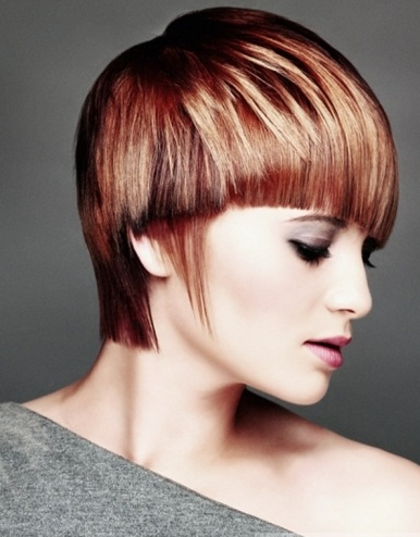 Groovy Two Tone Short Haircut 2014