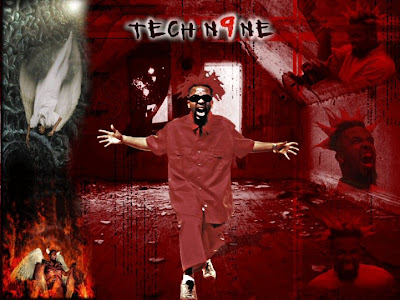hip hop wallpapers - red tech nine