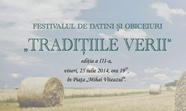 Festival de datini si obiceiuri la Craiova