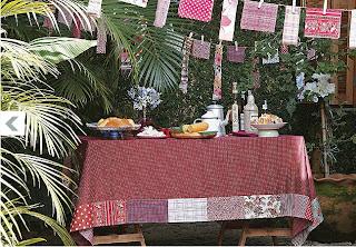 Decoração da festa junina -