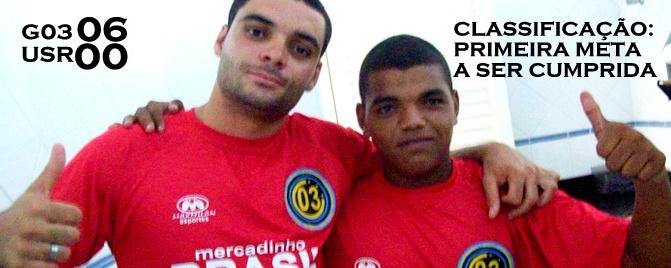 Grêmio 03 Futsal 06 x 00 União Santa Rita