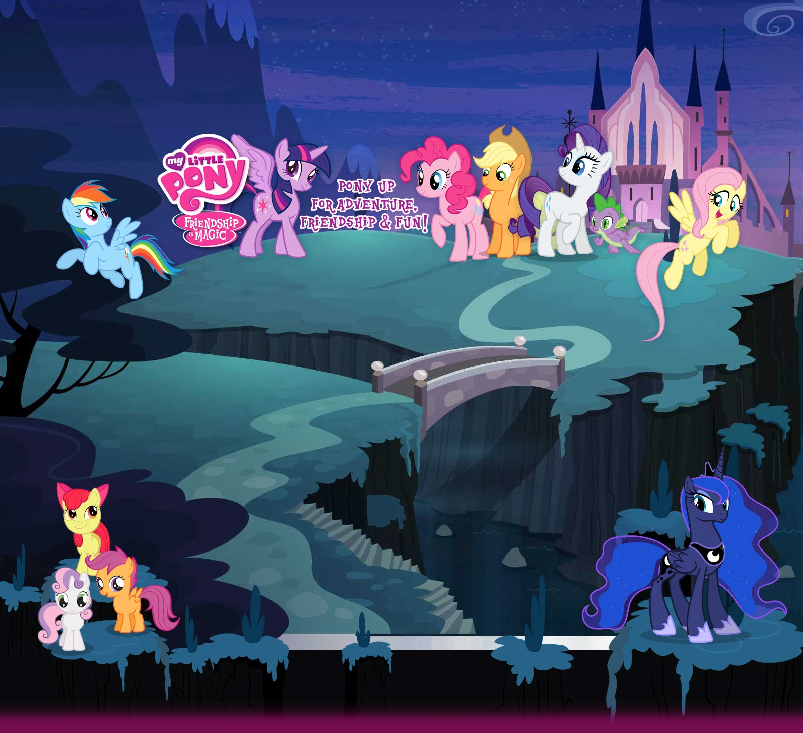 Equestria Daily - Hubworld Backgrounds Revealing Possible Season 4 ...