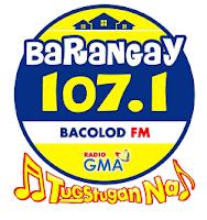 Barangay 107.1 Bacolod logo