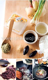 Silken tofu with salted olive recipe