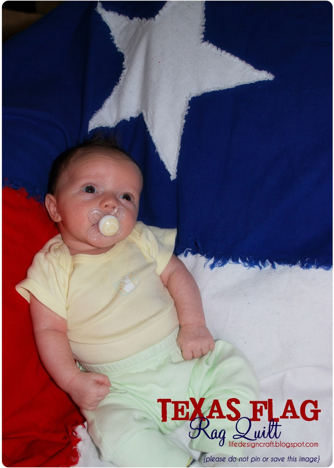 Life Design And The Pursuit Of Craftiness Texas Flag