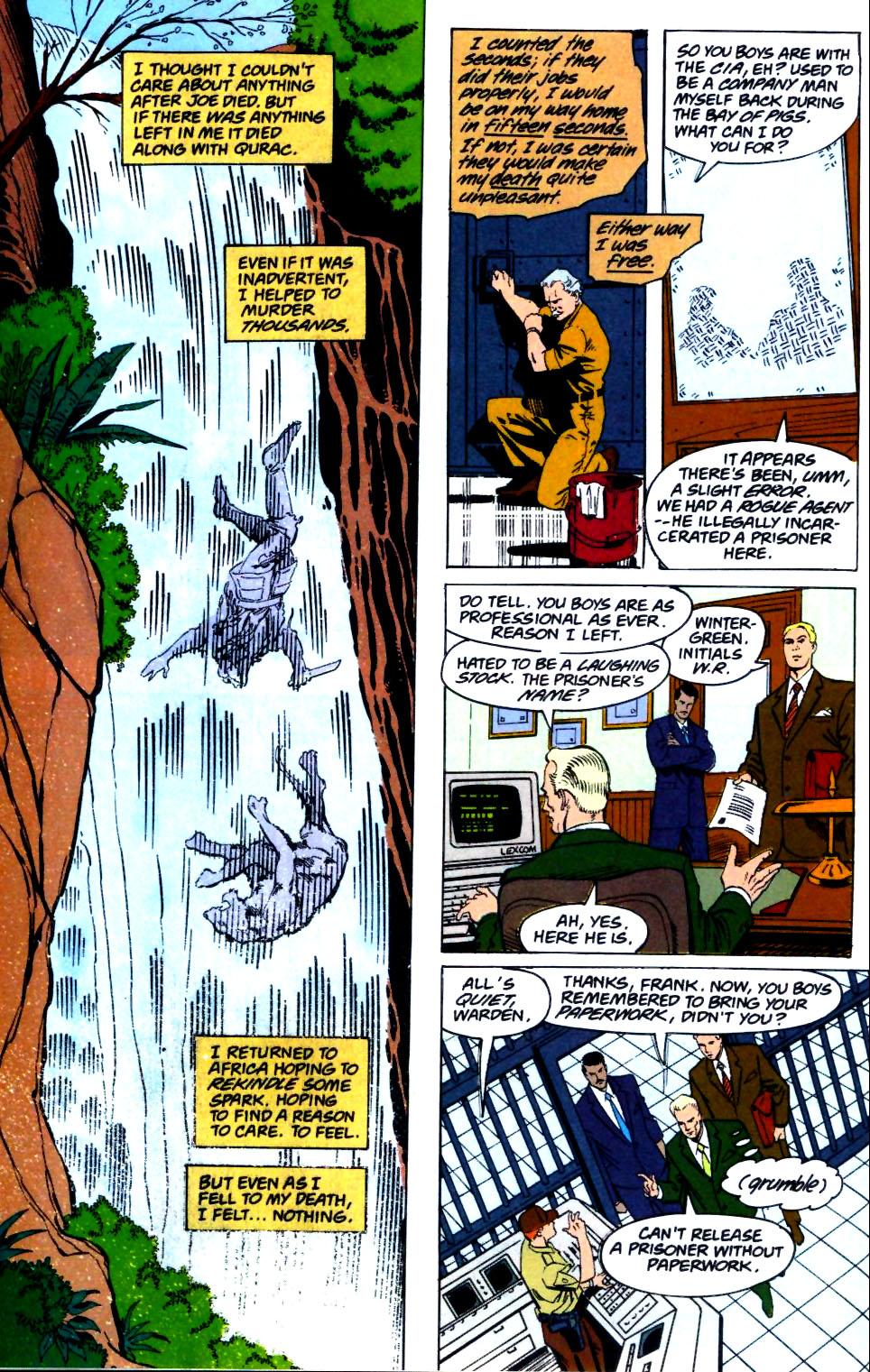 Deathstroke (1991) Issue #26 #31 - English 17