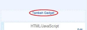 tambah-gadget-blogger
