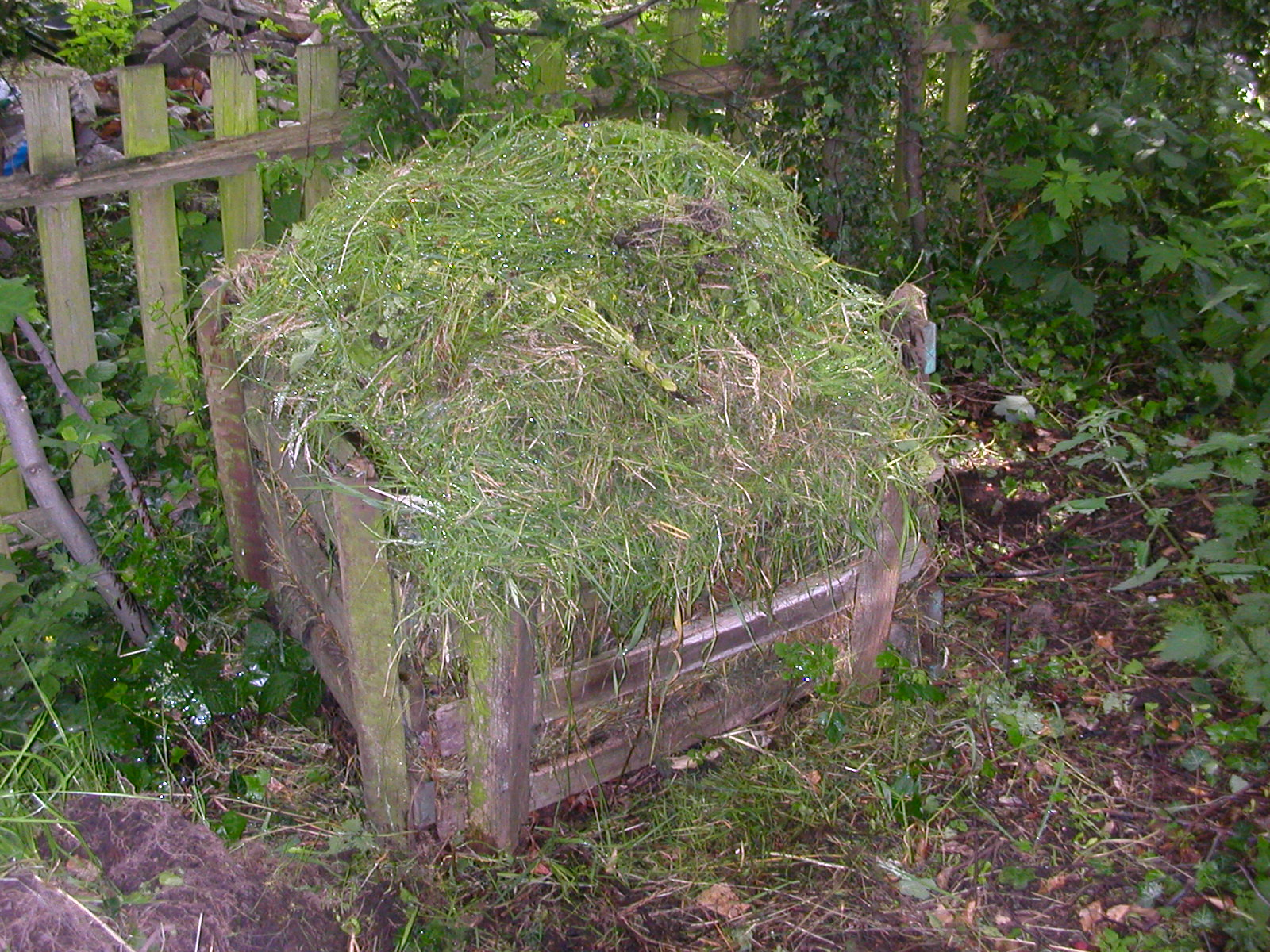 Make a compost heap and keep it tidy.