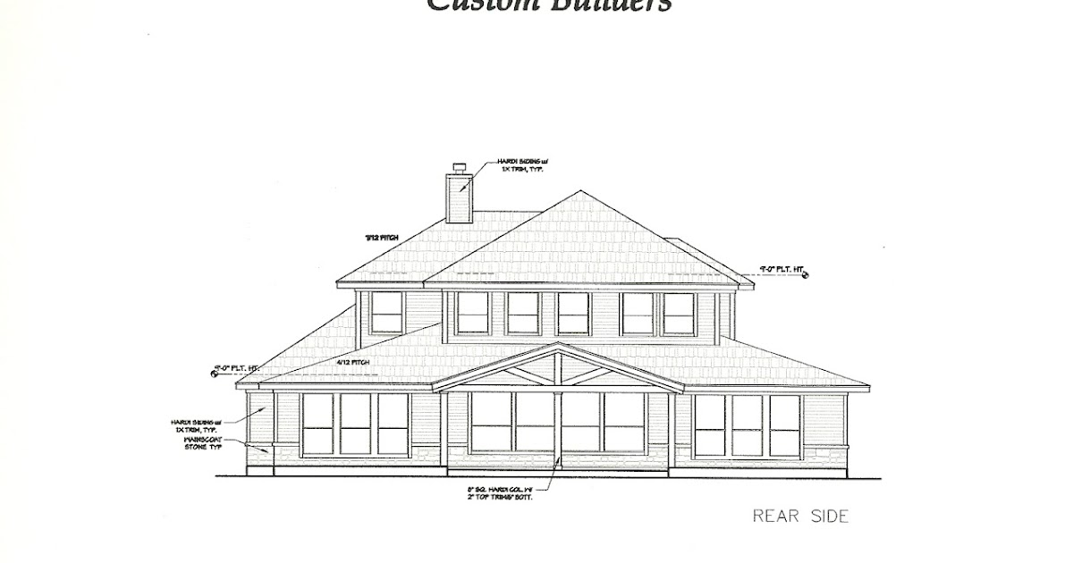 High cotton rear exterior elevation for What is rear elevation