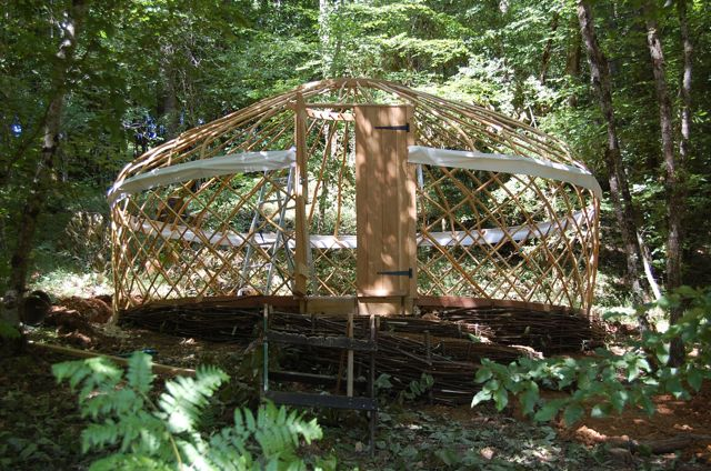 The D Evolutionary How To Make A Yurt Platform Alex S