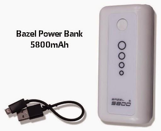 Harga dan Spesifikasi Bazel Power Bank 5800mAh