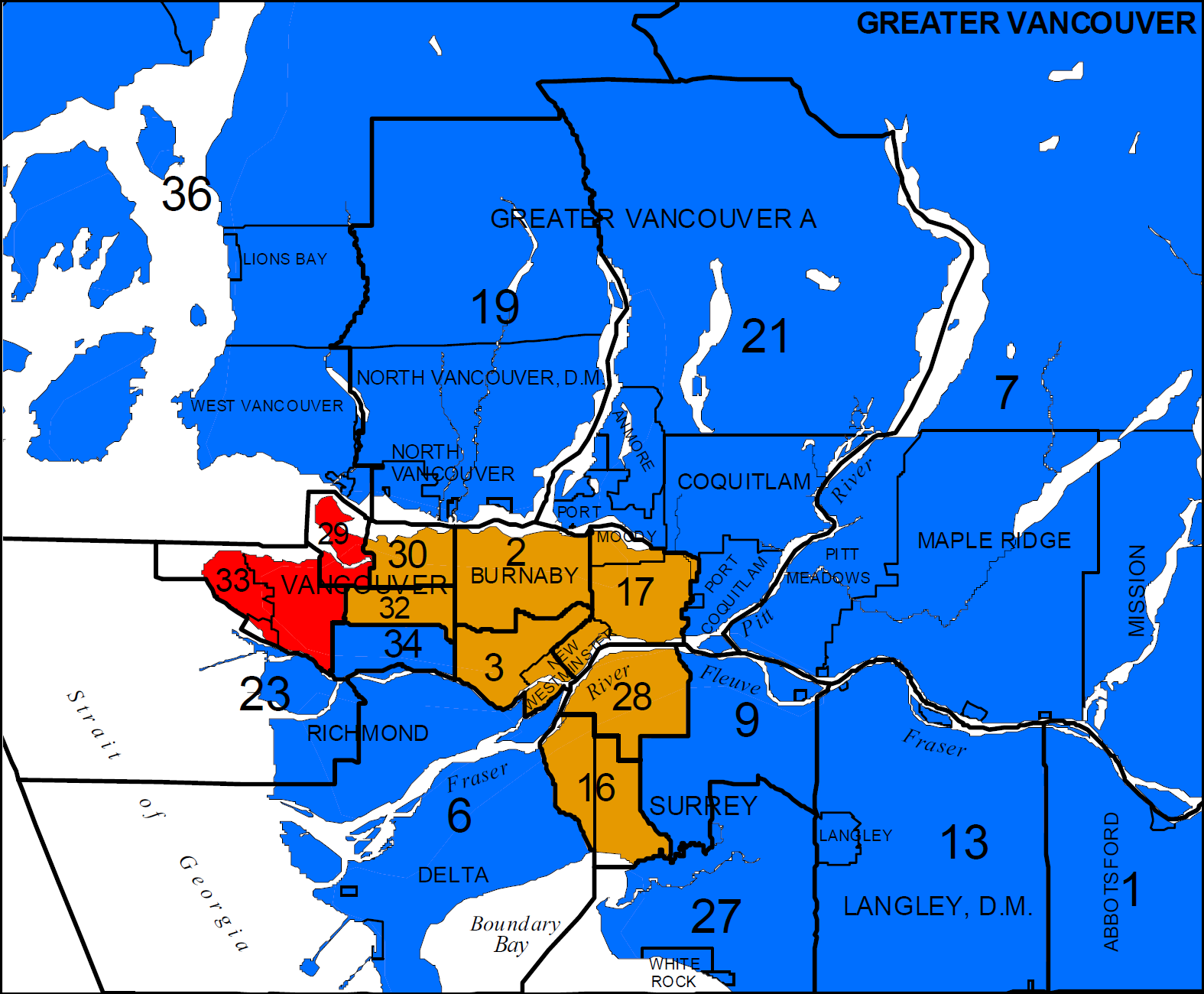 The South Fraser Blog Federal Election Results And New