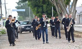 """Filarmônica dos """"Jovens músicos"""" abre programação de emancipação de Cuité"""