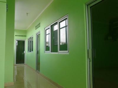 Lantai 1 : Lab komputer, Ruang Teori & Lab Bahasa