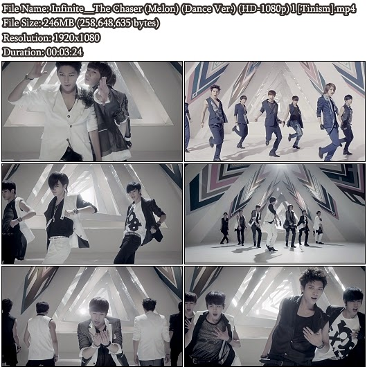 Download MV Infinite (인피니트) - The Chaser (추격자) (Dance Version) (Melon Full HD 1080p)