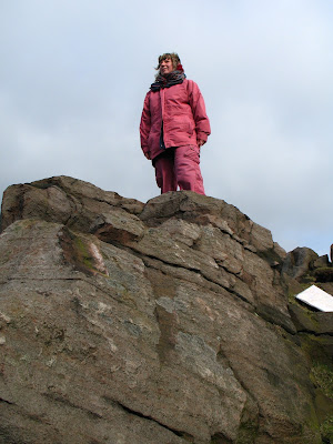 Rachel in the Peak District (2007) © regencyhistory.net