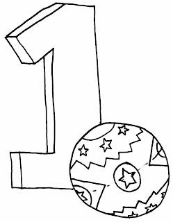 Dibujos de Numeros