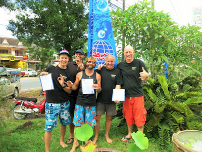 PADI IE in Khao Lak for November 2015 was very successful