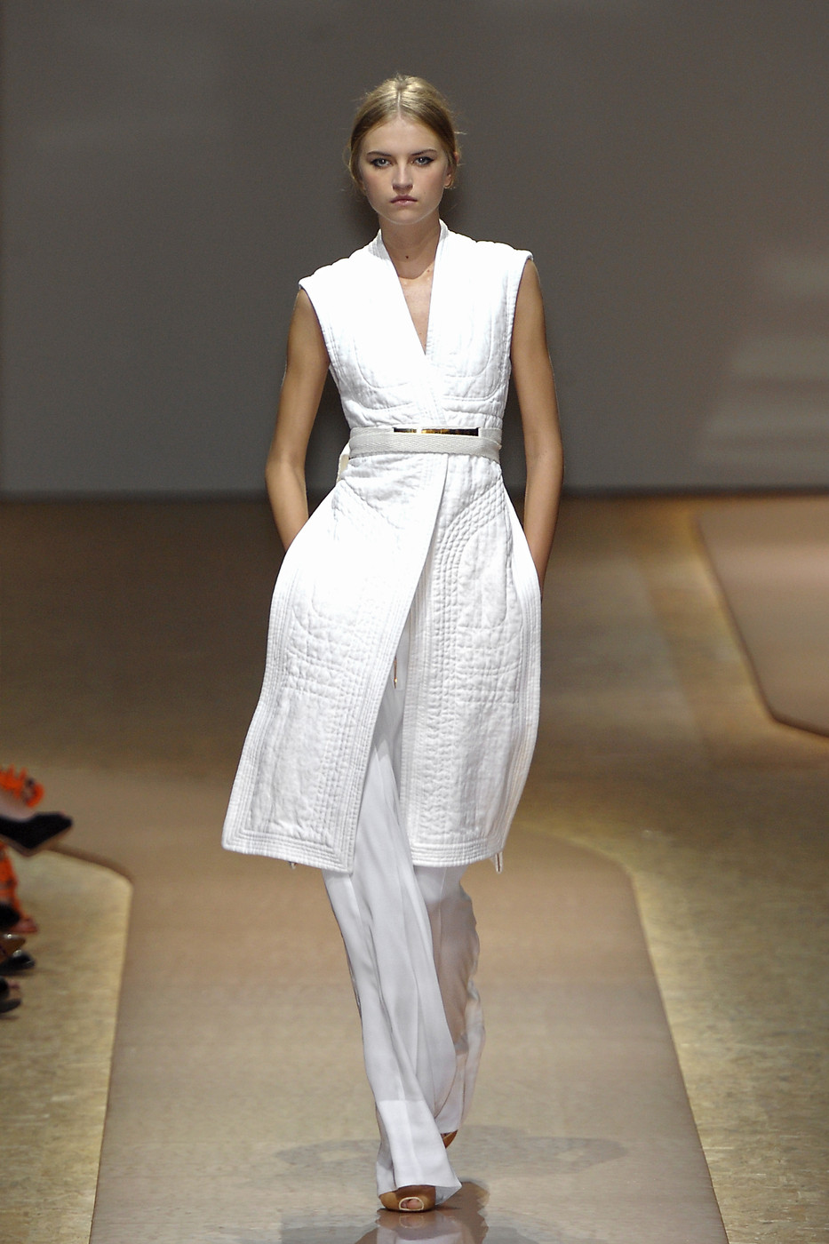 via fashioned by love | Celine Spring/Summer 2011 White