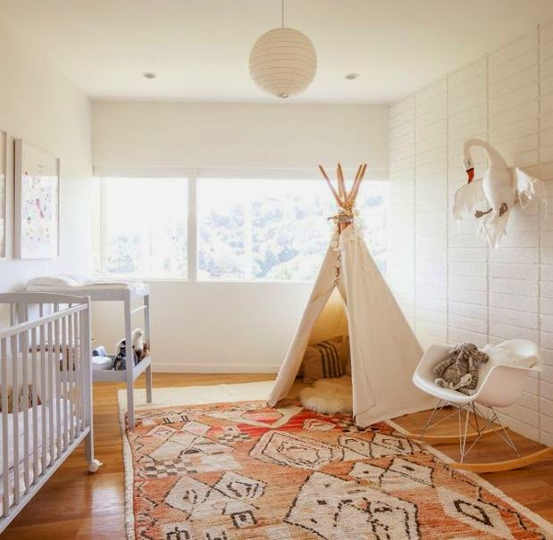 Moon To Moon Childrens Room Inspiration Teepee Den S