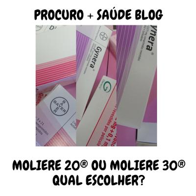 Moliere 20® ou moliere 30® - qual escolher?