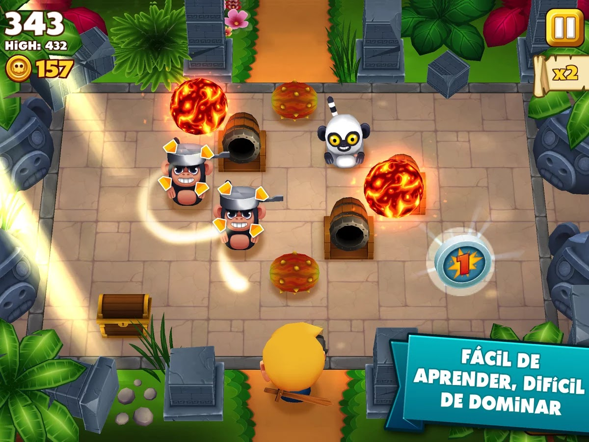 Tiki Monkeys gratis para ios y android