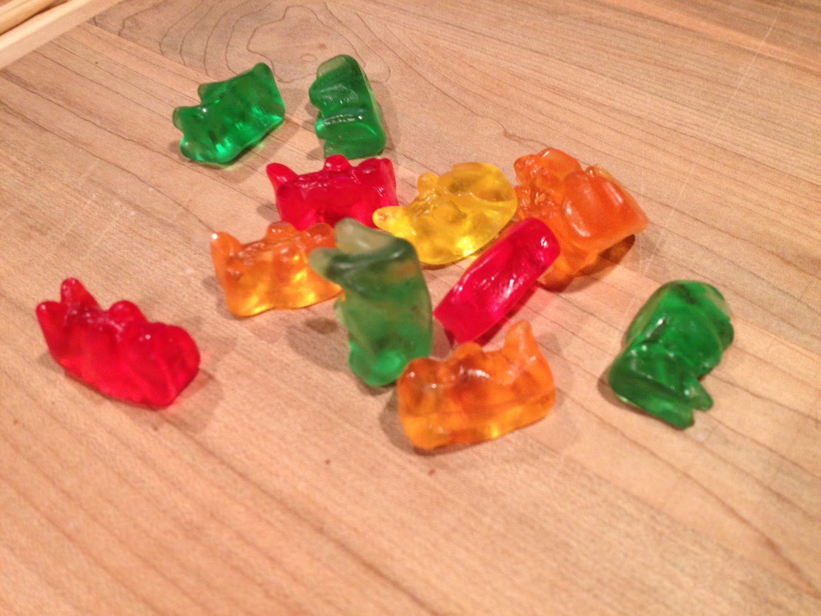 marvelous things: chocolate covered gummy bears
