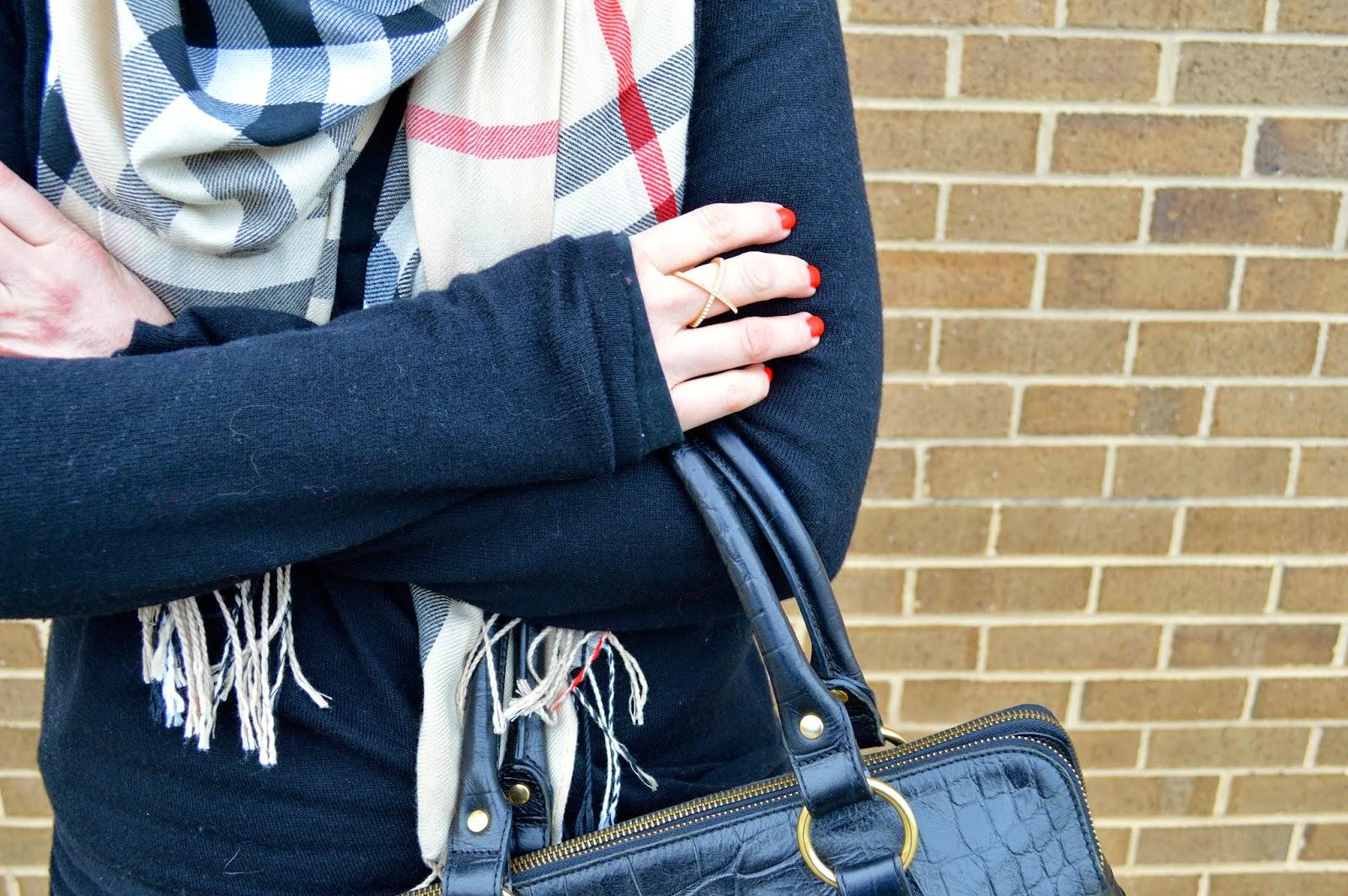 check-scarf