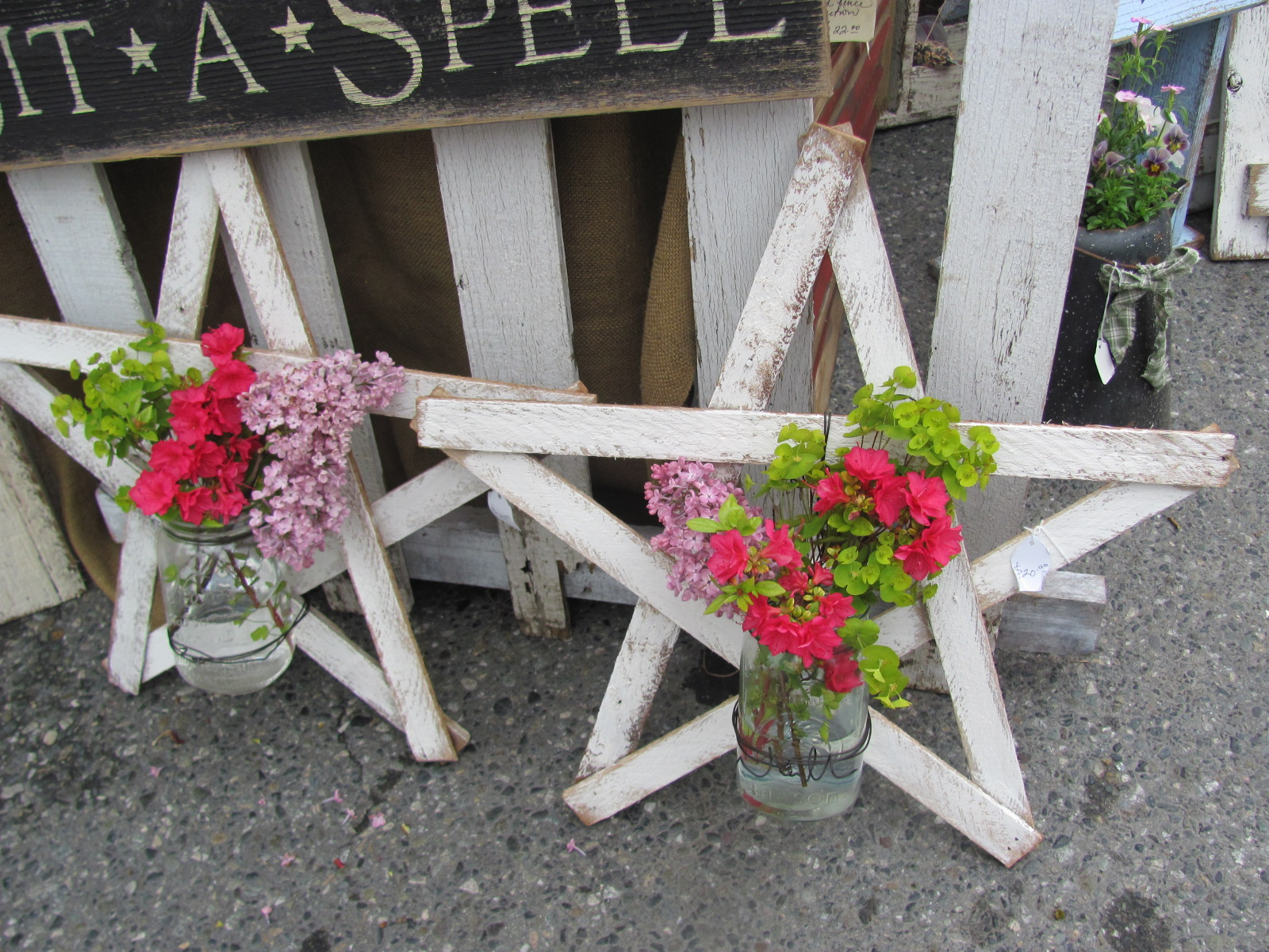 Rustic stars for crafts - Wooden Stars For Crafts Lets Visit And Antique And Craft Faire