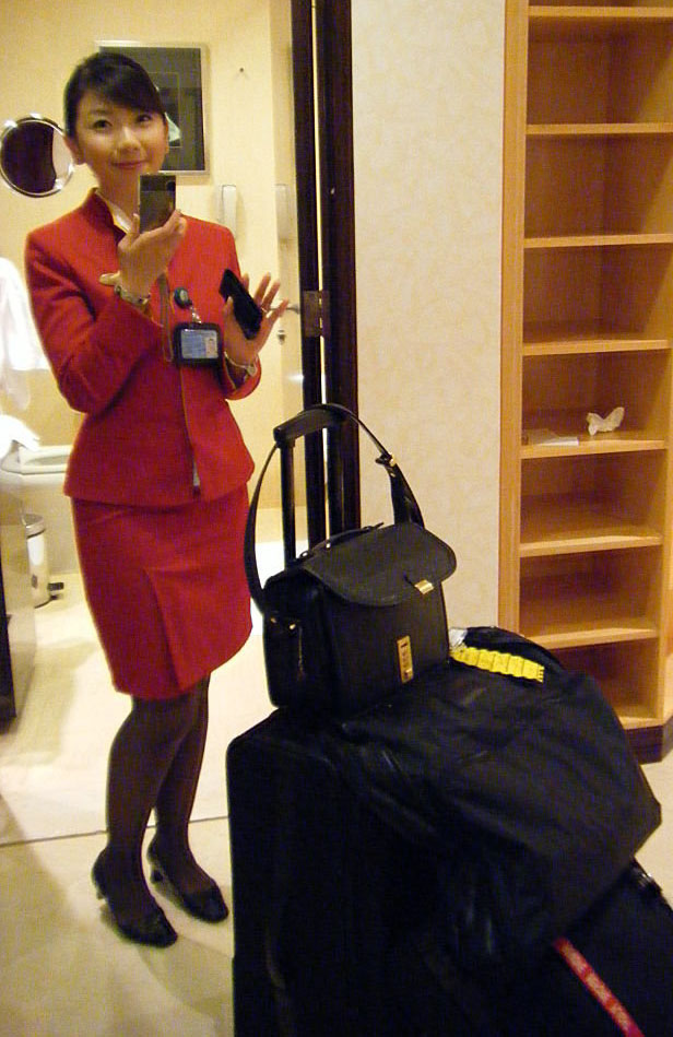 Cathay pacific beauty eden lo world stewardess crews for Korean air cabin crew requirements