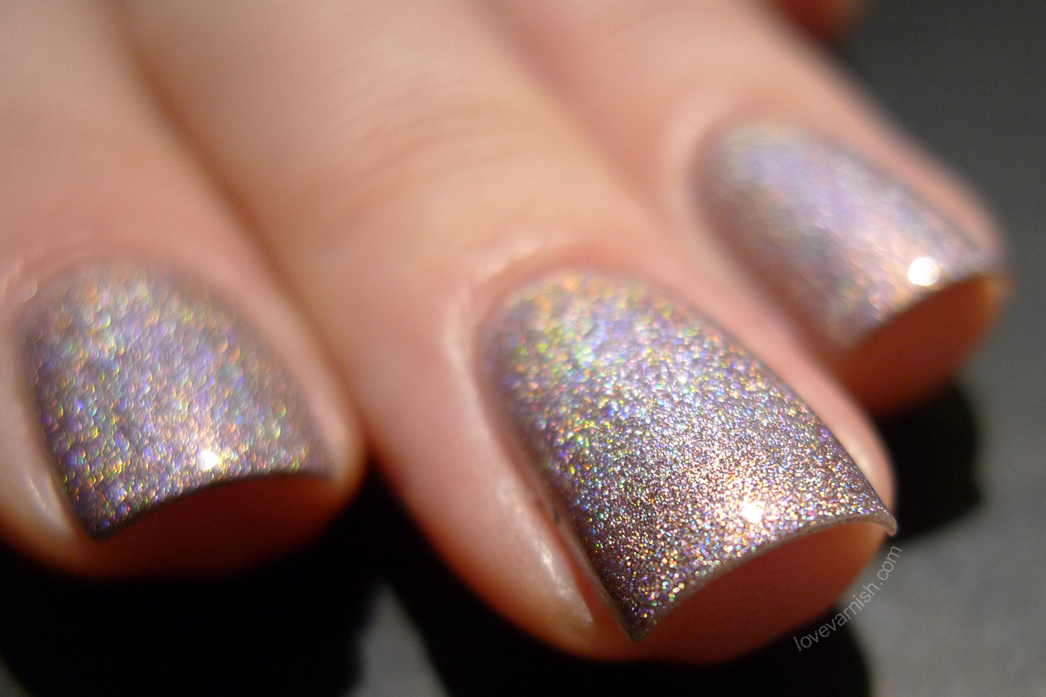 OPI DS Diamond nude holographic