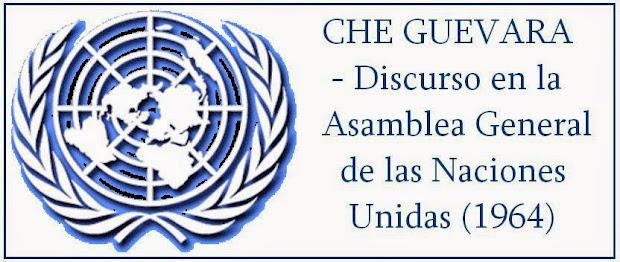 CHE GUEVARA - NACIONES UNIDAS 1964