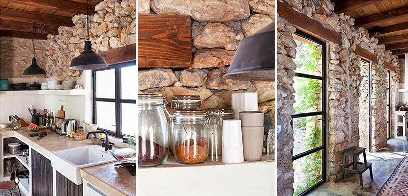 Marzua una preciosa casa r stica en ibiza - Botelleros rusticos ...