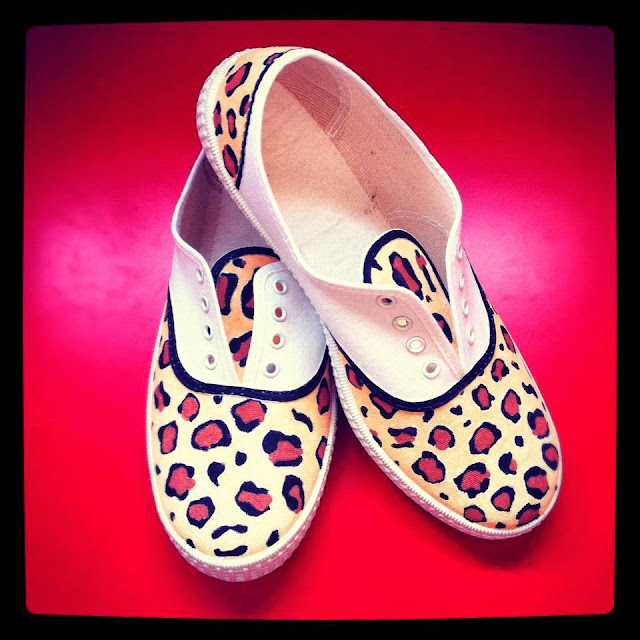 Zapatillas personalizadas print animal